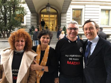 Hernando y Navarro se reunen los funcionarios de prisiones en Madrid