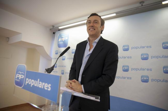 Hernando dice que el PP nunca pactará con antieuropeistas