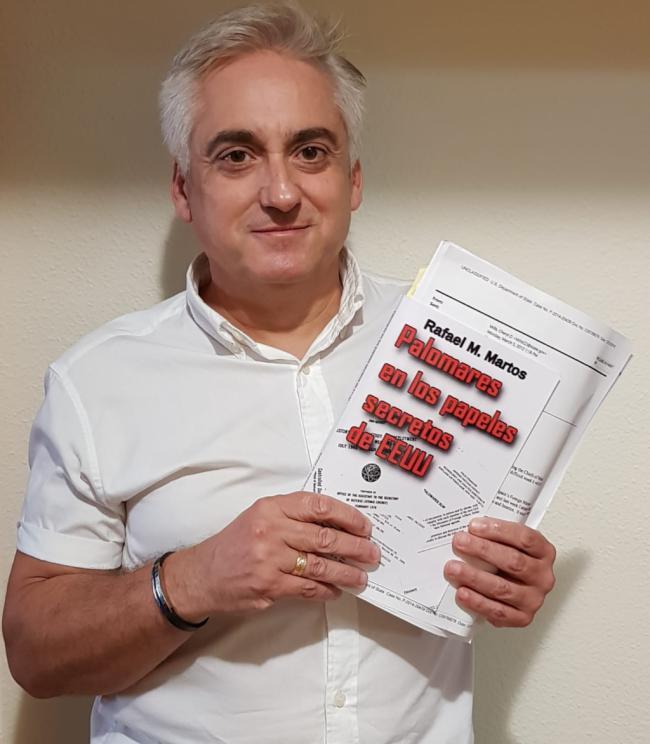 Rafael M. Martos presenta en Antas 'Palomares en los papeles secretos de EEUU'
