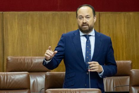 """Herrera destaca el """"compromiso"""" del Gobierno andaluz con las infraestructuras hidráulicas de Almería"""