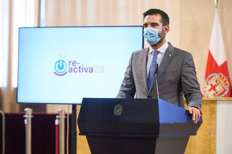 El alcalde de Almería anuncia un presupuesto