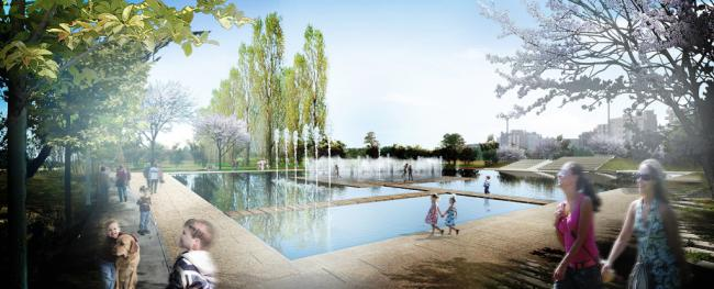 Así será la ampliación del Parque de las Familias
