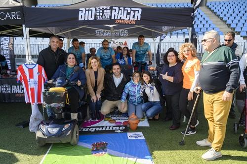 Reto solidario de 30 horas en bicicleta a favor de la Asociación de Esclerosis Múltiple de Almería