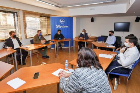 """El Congreso del PP será """"moderno, participativo y abierto a la sociedad almeriense"""""""