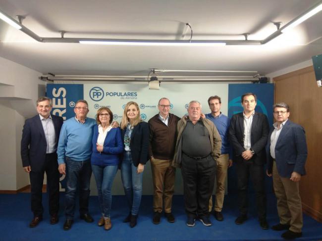 Nieto se reune con afectados por el Impuesto de Sucesiones en Almería