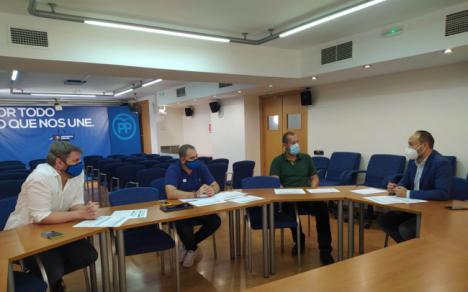 El PP explica a la educación concertada las medidas frente al #COVID19