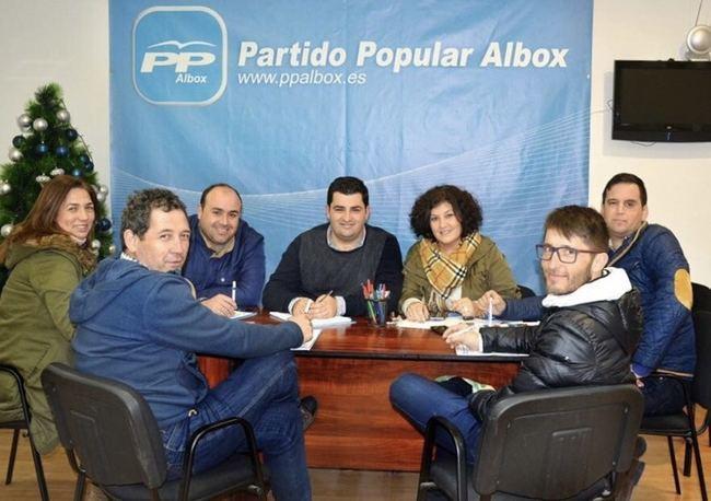 El PP Albox se consolida como la opción política favorita de los albojenses