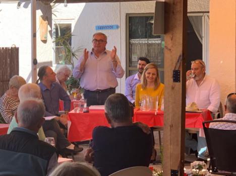 """Roberto Vicente pide el voto para que """"Bédar sea lo primero"""""""
