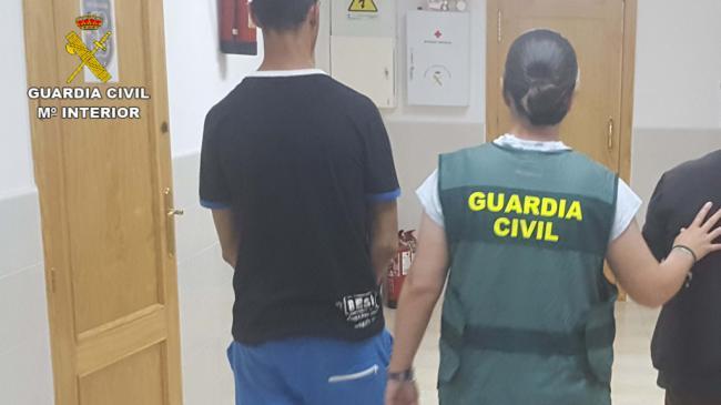 Detenidos dos vecinos de Palomares de 17 y 18 años por robar en el mismo municipio