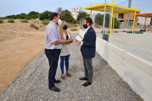 El PP subraya el compromiso de la Junta con el futuro colegio de Almerimar