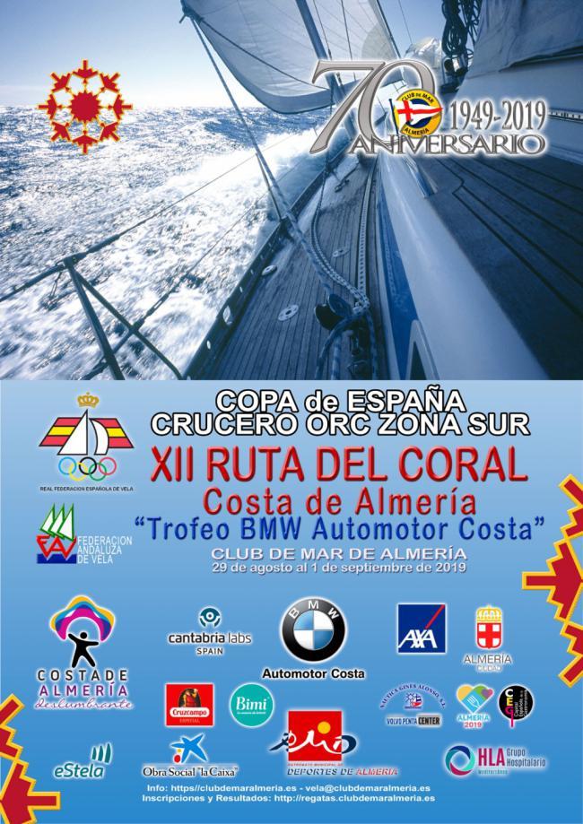 La XII Regata 'Ruta del Coral. Costa de Almería' al más alto nivel