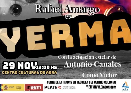 La danza flamenca de Rafael Amargo pone la guinda a la programación cultural de noviembre