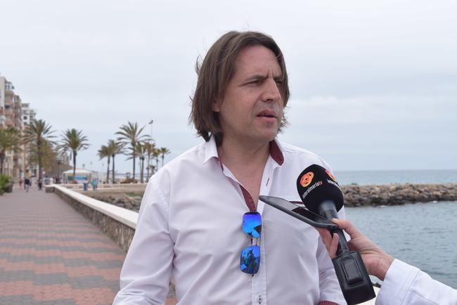 El Grupo Municipal de Ciudadanos satisfecho por la instalación del canal de nado en la playa de San Miguel