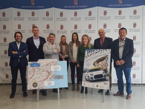 Carboneras se estrena en el Circuito Andaluz con su primer Rallye
