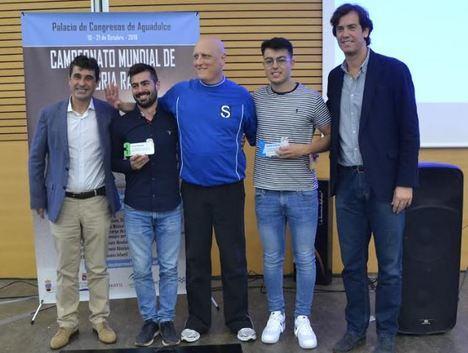 Ramón Campay, diez veces campeón del mundo de memoria rápida tras superar el récord en Roquetas
