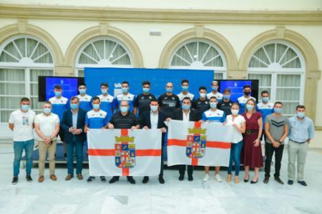 El CD El Ejido Futsal y el CD El Ejido 2012 ofrecen sus ascensos a la provincia de Almería