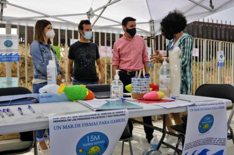 Diputación anima a toda la sociedad a apoyar la causa 'Un mar de firmas por Gabriel'
