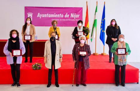 Níjar premia a seis mujeres por su papel a favor de la igualdad