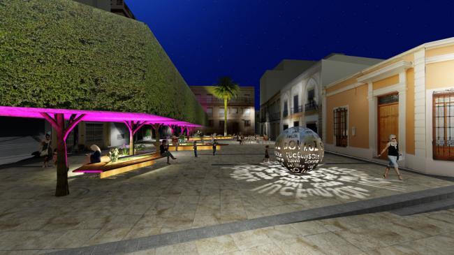 La Plaza Careaga cambiará de fisonomía en cinco meses