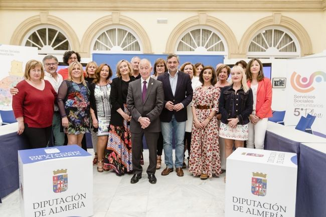 Los 13 Centros de Servicios Sociales de Diputación reciben a 14.800 personas en seis meses