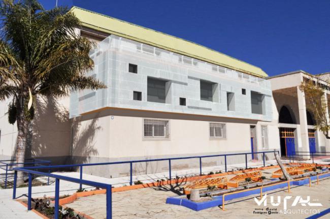 Huércal Overa amplía las salas del Pabellón de Deportes con el apoyo de Diputación