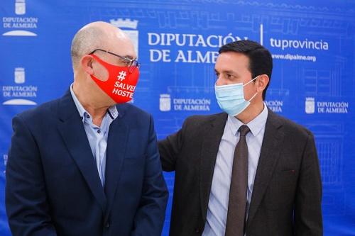 Diputación y Ashal se reunen para buscar soluciones a las medidas anticovid-19