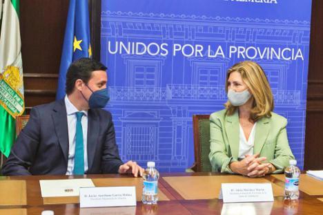 Diputación y Junta abren nuevas vías de colaboración para fomentar el alquiler