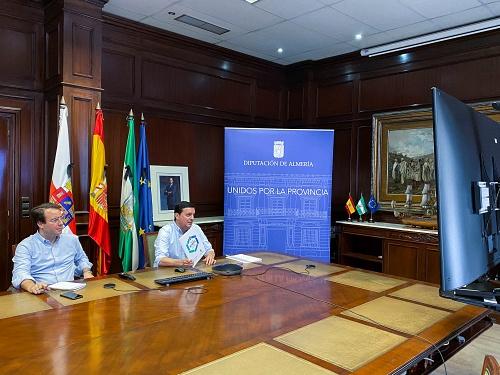 Diputación implica al Colegio de Graduados Sociales en la difusión del 'Plan Almería'