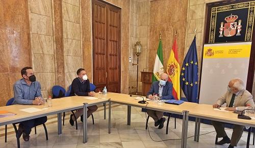 La Subdelegación atiende la petición del ayuntamiento de Antas sobre la subestación 'La Ribina'