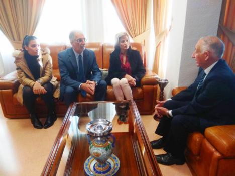 Reunión del alcalde de Roquetas con el cónsul honorario de Mali