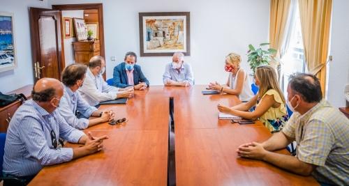 La nueva Lonja de Roquetas integrará Puerto y Castillo de Santa Ana
