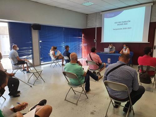 Diputación diseña un protocolo de seguridad para el Moisés Ruiz