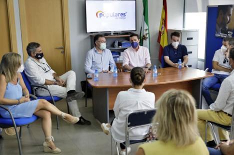 """Javier A. García resalta en Berja que """"la experiencia de gestión es el gran valor del PP"""""""