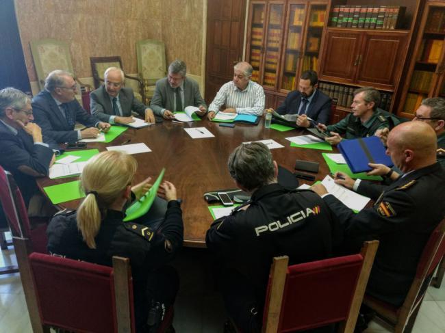Primera reunión de planificación de la próxima Operación Paso del Estrecho 2019