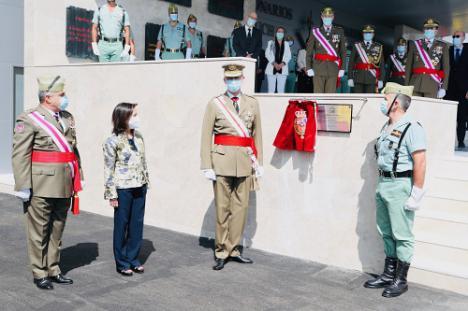 Felipe VI muestra en Viator su