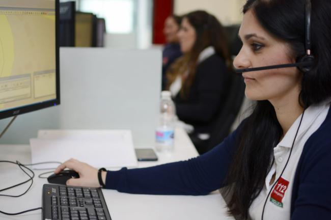 La capital supone casi un tercio de las llamadas al 112 de Almería