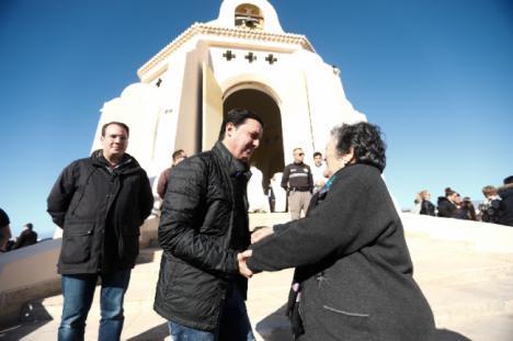 El Gobierno de la Diputación se suma a la romería a Torregarcía