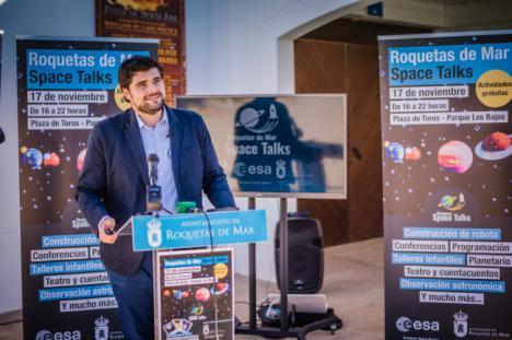 Roquetas viaja al espacio con la iniciativa 'Space Talks' y de la Agencia Espacial Europea