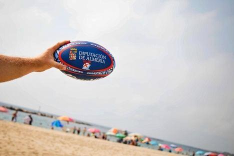 La IV edición del Circuito Provincial de Rugby Playa llega a Adra y Carboneras