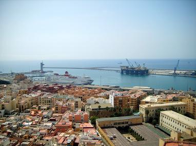 El buque escuela italiano 'Amerigo Vespucci' atraca este sábado en Almería dentro de su instrucción