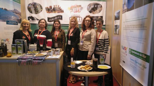 Níjar acude con stand propio al Salón Gourmet de Madrid