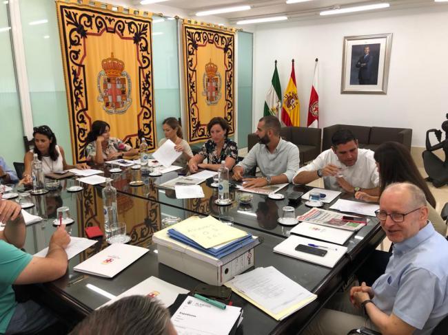 El alcalde destaca el diálogo con la Junta en los cien primeros días de gobierno