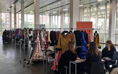 Una empresa almeriense en la XXVI Salón Internacional de la Moda Flamenca