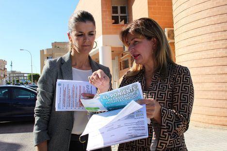 Los médicos de El Ejido atienden a un 66,6% más de pacientes de lo que les corresponde