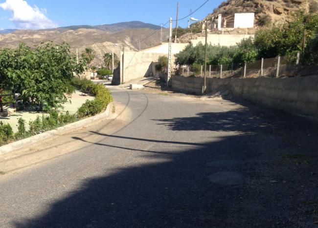 Diputación invierte 80.000 euros en renovar la Calle Granada de Santa Cruz de Marchena