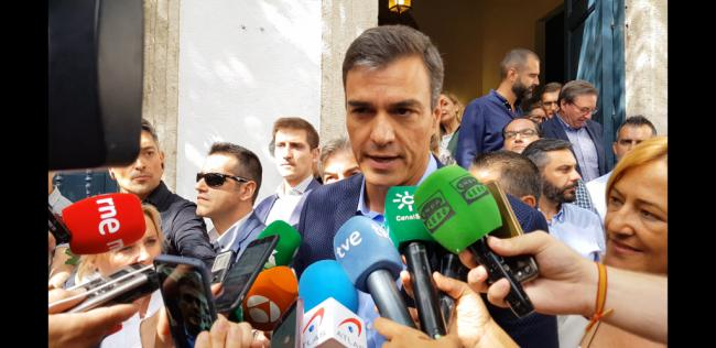 Sánchez califica de 'sobresaliente' la coordinación institucional ante la DANA