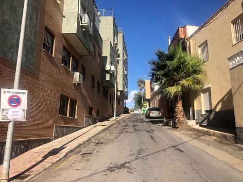 Operativo de limpieza intensiva en el barrio de Los Ángeles