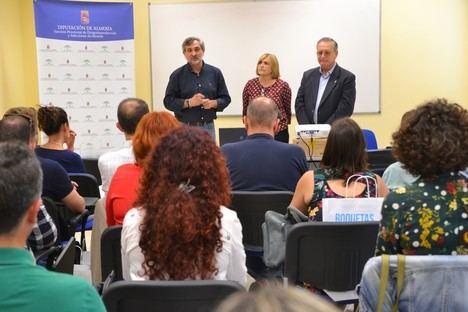 Responsables de prevención de adicciones intercambian experiencias en Roquetas