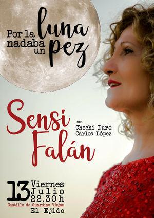 La voz de Sensi Falán inundará este viernes el emblemático Castillo de Guardias Viejas en El Ejido