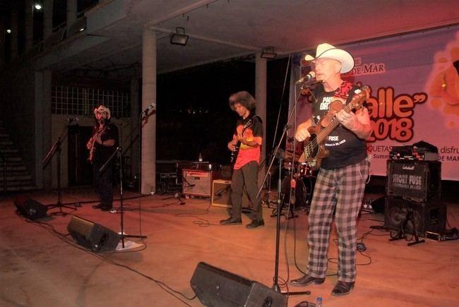 Gran concierto de Short Fuse en el Anfiteatro de Roquetas de Mar